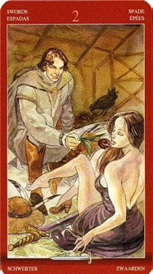 Двойка (2) Мечей - Приглашение. (Таро Магия Наслаждений)
