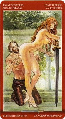 Рыцарь Мечей - Приручение. (Таро Магия Наслаждений)