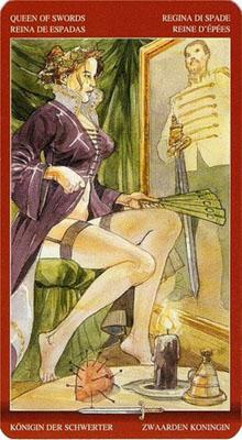Королева Мечей - Исследование. (Таро Магия Наслаждений)