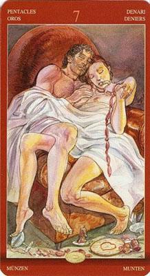 Семерка Пентаклей (7) - Усталость. (Таро Магия Наслаждений)