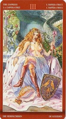 Карта (III) Императрица - Приглашение. (Магия Наслаждений)