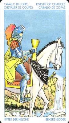 Рыцарь Кубков - Романтик. (Таро Артура Уэйта)